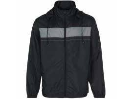SPORTE LEISURE YORK LAWN BOWLS UNISEX JACKET - BLACK/PLATINUM