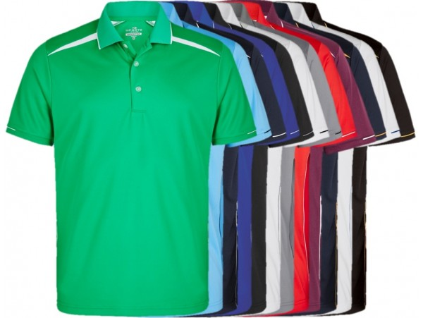 CLUB CUSTOMISED ZONE MENS LAWN BOWLS POLO