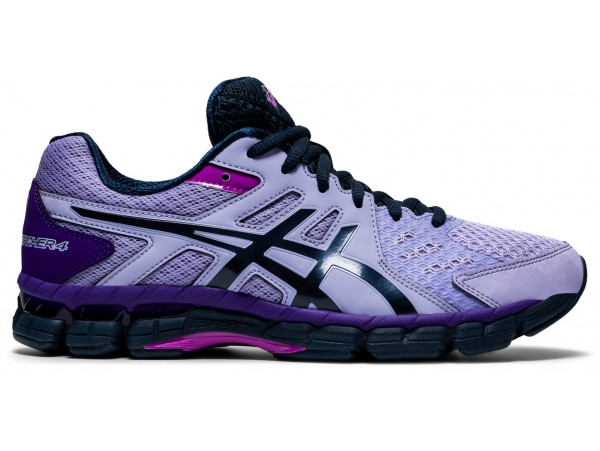 ASICS GEL-RINK SCORCHER 4 (D) WOMENS LAWN BOWLS SHOES VAPOR/FRENCH BLUE - AVAILABLE LATE JULY 2021