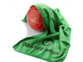 DRAKES PRIDE MICROFIBRE BOWLS TOWEL. AVAILABLE IN GREEN, RED or YELLOW