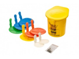 REBOUND DISC NAIL FIX SET OF 8