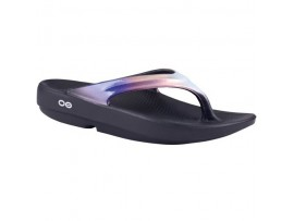 OOFOS OOLALA LUXE LAWN BOWLS THONGS CALYPSO