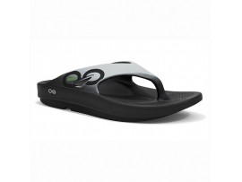 OOFOS OORIGINAL SPORT LAWN BOWLS THONGS CLOUD WHITE