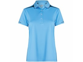 DRAKES PRIDE LADIES ZONE POLO SHIRT - NAUTICAL / FR NAVY
