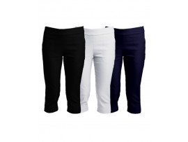 SPORTE LEISURE STRETCH LADIES BASIC 3/4 PANT