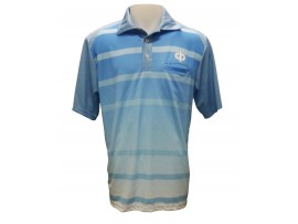 Drakes Pride Skyline Mens Sublimated Lawn Bowls Polo Shirt