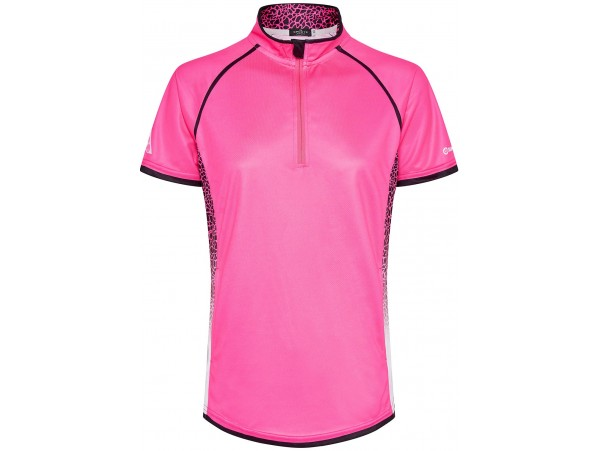 DRAKES PRIDE BLISS WOMENS LAWN BOWLS POLO PINK