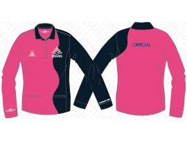 NATIONAL OFFICIAL LONG SLEEVE POLO SHIRT