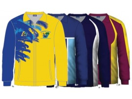 CUSTOM DESIGNED SUBLIMATED LAWN BOWLS JACKET - MENS & WOMENS