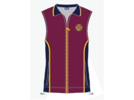 CUSTOM DESIGNED SUBLIMATED LAWN BOWLS VEST - MENS & WOMENS