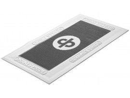 DRAKES PRIDE REGULATION FOOTMATS BLACK & WHITE