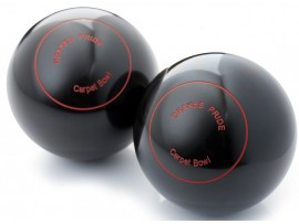 DRAKES PRIDE SCOTTISH NON BIASED CARPET BOWLS