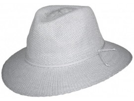 LADIES WHITE BROAD BRIM CANCER COUNCIL HAT