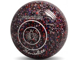 Henselite Fusion Black Speckled Cosmos Lawn Bowls