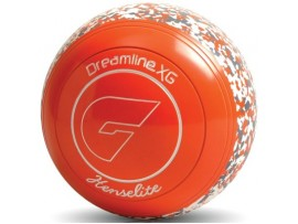 HENSELITE DREAMLINE XG AFL COLOURED LAWN BOWLS