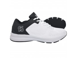 DRAKES PRIDE ASTRO LAWN BOWLS SHOES - WHITE/GREY